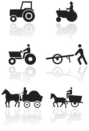 Farmer symbol set.