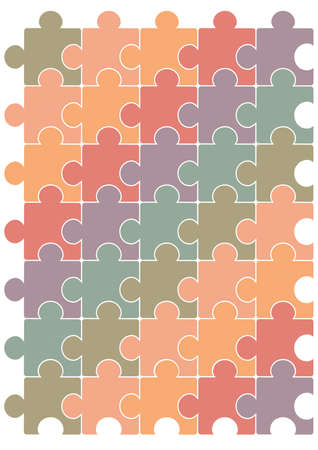 puzzling: Puzzle pattern  design template with 4 different editable layers.