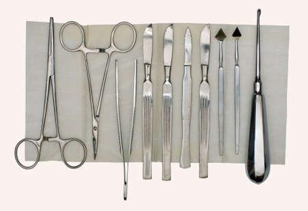 quirurgico: Instrumento quir�rgico realizado en el siglo pasado