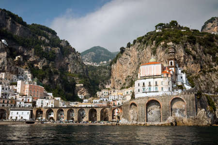 quayside: Amalfi Coast from the Sea, in Italy