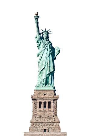 lady liberty: Estatua de la Libertad en Nueva York, aislado