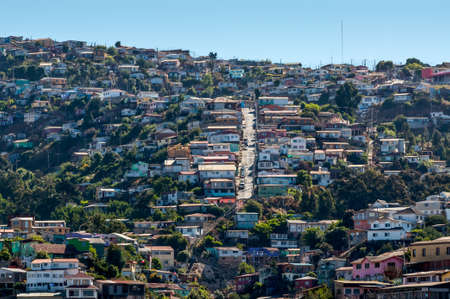 valparaiso: Valparaiso Hills, Chile Stock Photo