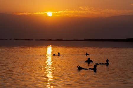 dead sea: The Dead Sea is a salt lake in Israel   Stock Photo