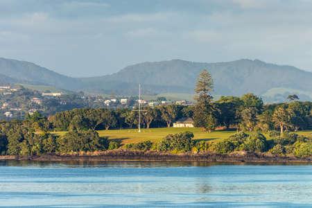The Waitangi Treaty Grounds is the place where Maori chiefs first signed their accord with the British Crown in 1840 - the Treaty of Waitangi - Te Tiriti of Waitangi, New Zealand�??s founding document. Bay of Islands - New Zealand.