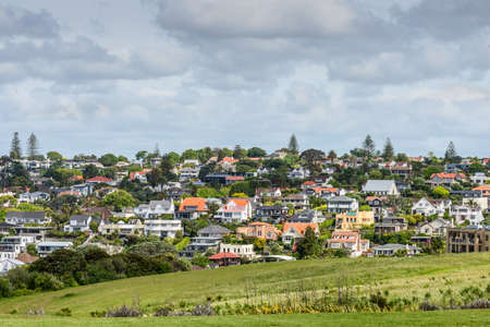 View of Auckland suburb, New Zealand