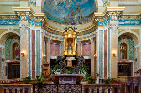 Palermo, Italy - October 6, 2009: Internal furniture and esteemed by all Sicily