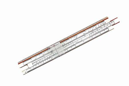 Office decor. Vintage logarithmic ruler Measuring ruler Vintage tools Engineering tools Logarithmic scale Sliding ruler Slide ruler