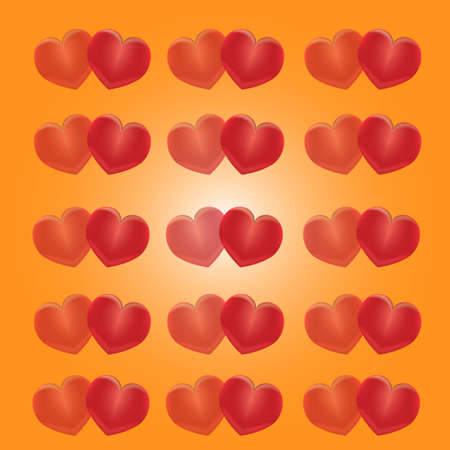 burning heart: Burning heart. Vector illustration, contains transparencies, gradients and effects