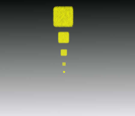 Yellow squares on a dark background