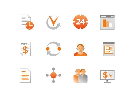 payment icon: Set of Finance Icons