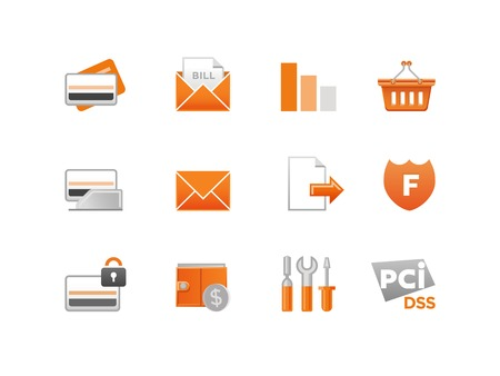 Set of Finance Icons Reklamní fotografie - 22447100