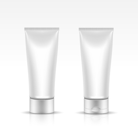 Vector Illustration of Tube for Cosmetic Package Ilustrace