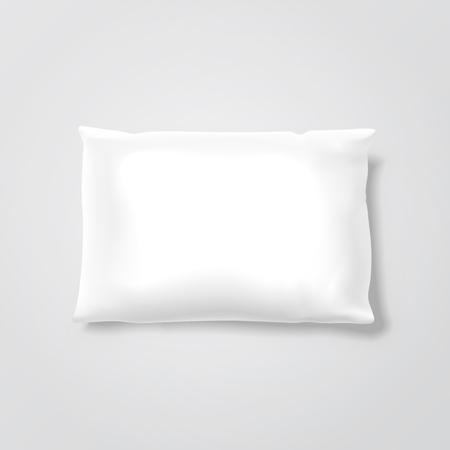 ベクター空白枕  イラスト・ベクター素材