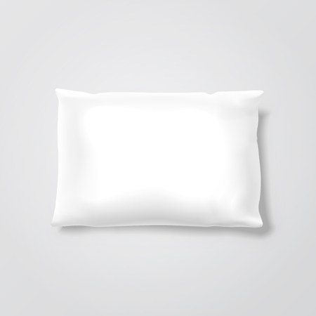 cushion: Vector Blank Pillow Illustration