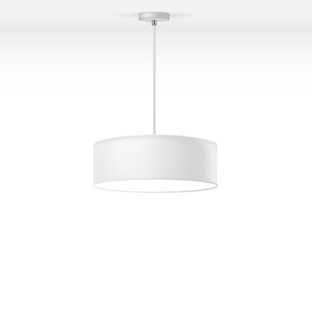 Vector Isolated Lamp Ilustrace