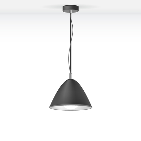 Vector Isolated Lamp Vector
