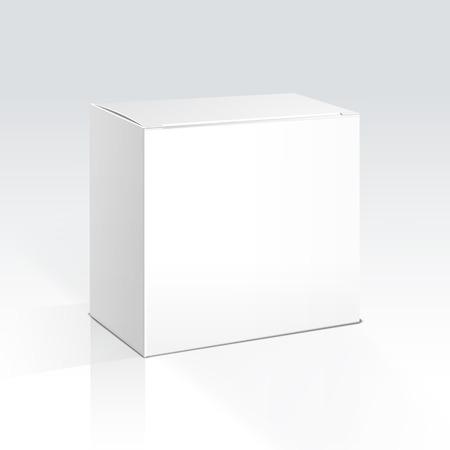 Vector Blank Box Ilustrace