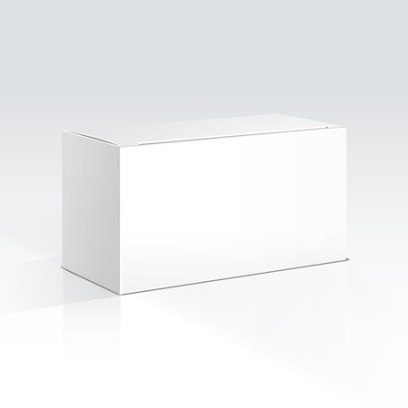 blank box: Vector Blank Box Illustration