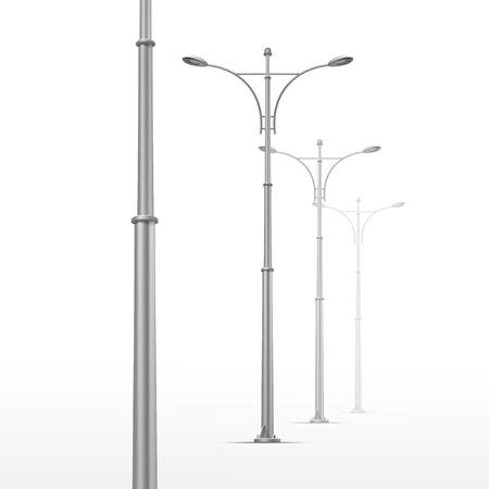 уличный фонарь: Вектор уличный фонарь, изолированных на белом фоне