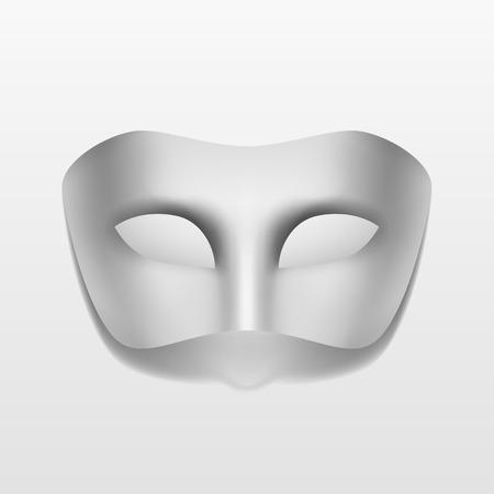mascaras de carnaval: Máscara vectorial Carnival Party Masquerade Aislado Vectores