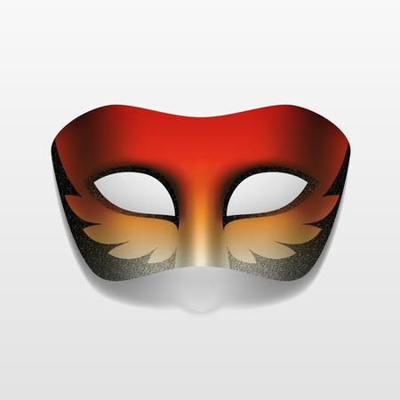 masquerade party: Vector Carnival Masquerade Party Mask Isolated