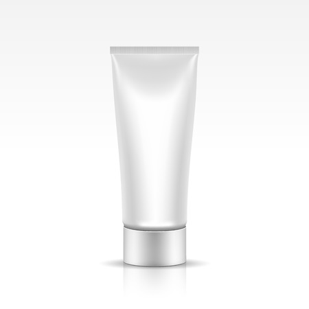 shaving: Tube for Cosmetic Package