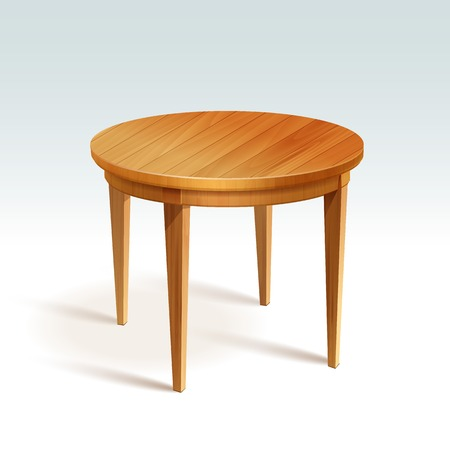 vaco mesa redonda madera - Mesa Redonda Madera