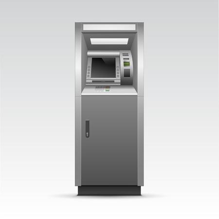 Cajero Banco efectivo aislados