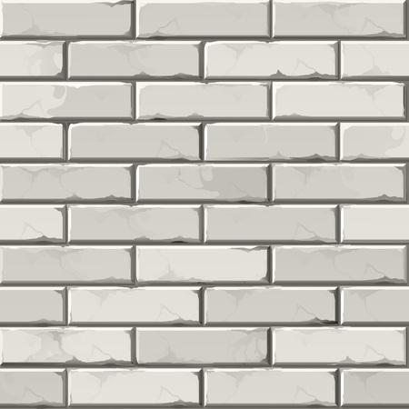 brickwork: Vector Brick Wall Background Texture Pattern