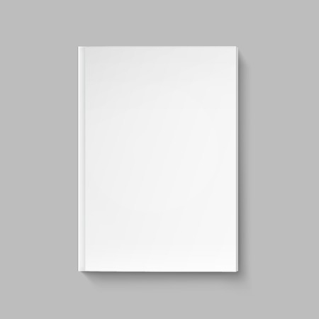blank magazine: Vector Blank Cover for Book or Magazine Template