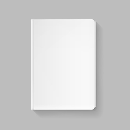 magazine template: Vector Blank Cover for Book or Magazine Template