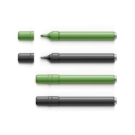 correttore: Serie di marcatori, Evidenziatori, feltro punta penne