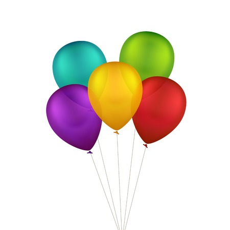 Multicolored Colorful Balloons