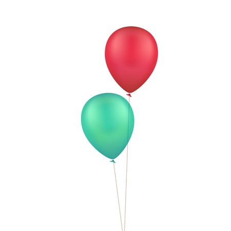 helium balloon: Multicolored Colorful Balloons