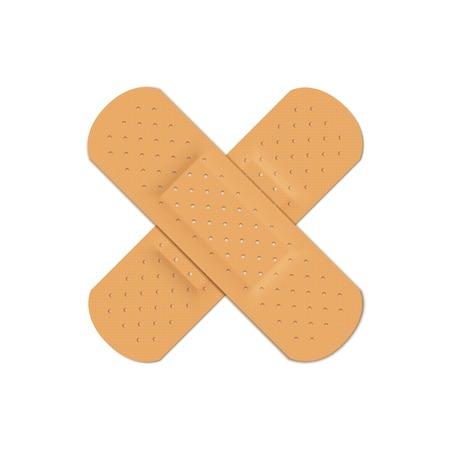 Vector Bandage Plaster Aid Band Medical Adhesive Imagens - 41533973