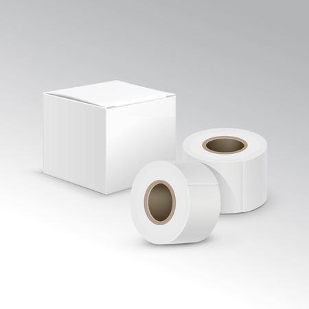 adhesive plaster: Vector Bandage Plaster Aid Band Medical Adhesive