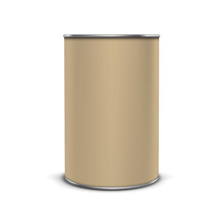 Coffee Tea Packaging Package Bank Jar Tin Pot Vettoriali