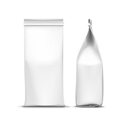 Vector Kaffee-Tee-Verpackung Packungs Bag Isolated Standard-Bild - 41534845