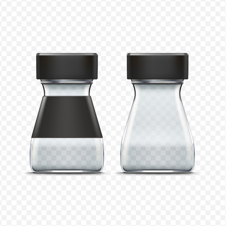 empty jar: Vector Glass Empty Jar Packaging Package Isolated