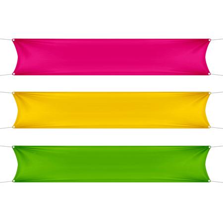 jaune rouge: Rouge, jaune et vert Banni�res vides vierges