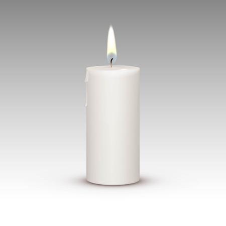 candela: Candela Fuoco Luce Fiamma isolato su sfondo