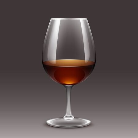 cabernet: Illustration of Wine Glass Vector Isolated Transparent