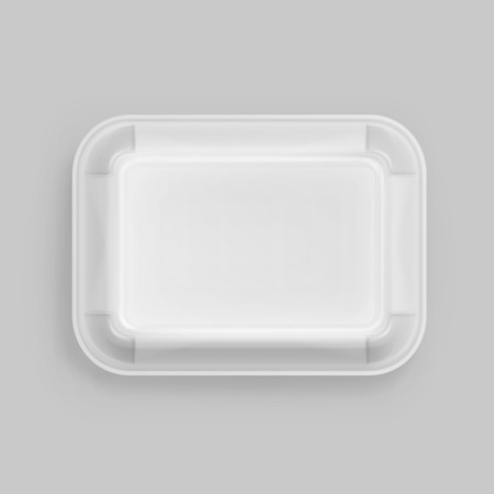 raw egg: White Fast Food Box Container Packaging Package Packing Pack Isolated on Background