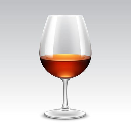 glass of red wine: Wine Glass Vector Isolated Transparent on Background
