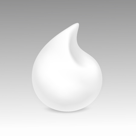 mousse: White Foam Cream Mousse Soap Lotion Isolated on Background