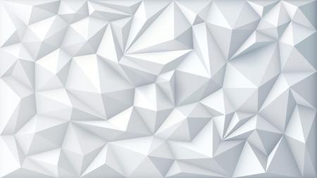 Illustration von Polygon Zusammenfassung Polygonal Geometrische Dreieck Hintergrund