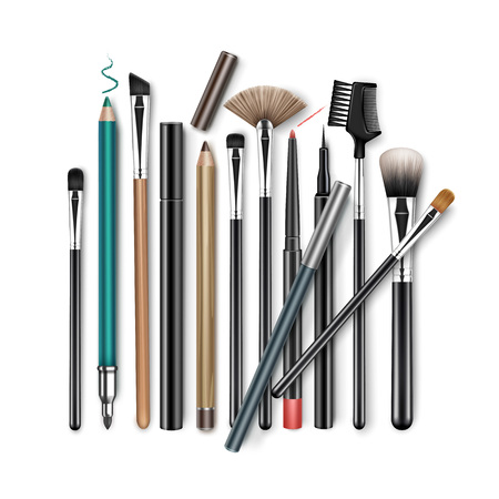 Set of Professional Makeup tools