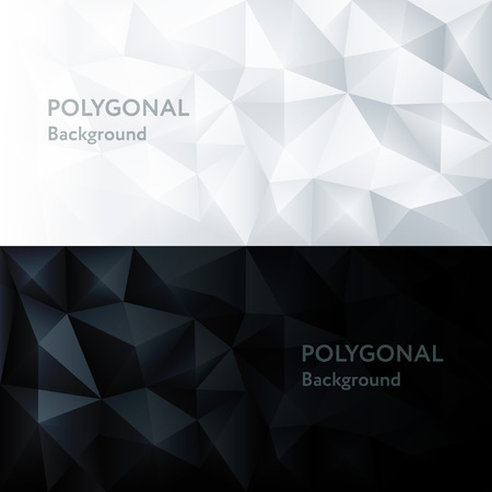 Vector Polygon Abstract Polygonal Geometric Triangle Background Ilustrace