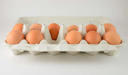 eierdoos met een ei ontbrekende