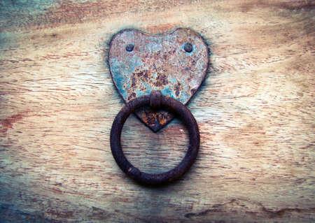 Heart shaped handle photo